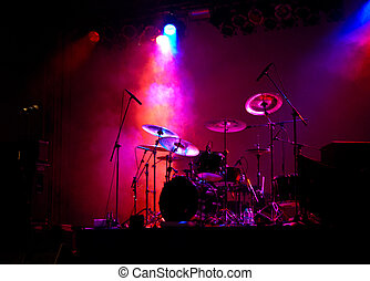 lyse, trumman
