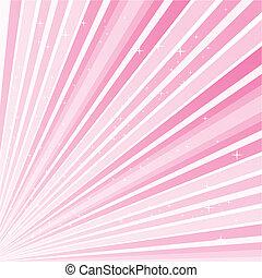 lyserød, 10.0, abstrakt, eps, illustration, vektor, rstars,...