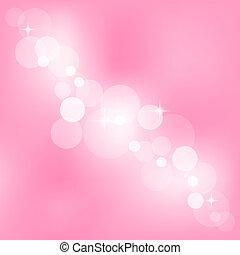 lyserød, abstrakt, vektor, baggrund