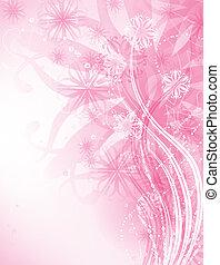 lyserød baggrund