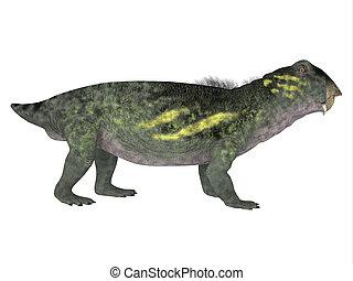 Lytrosaurus Side Profile