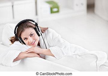 lytte musik til
