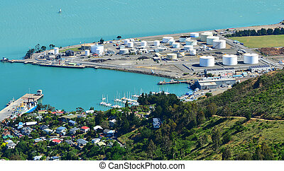 Lyttelton Christchurch - New Zealand - LYTTELTON - DEC 04 ...
