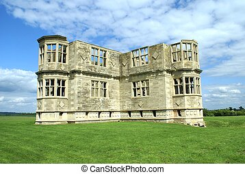 Lyveden New Bield castle, England - ruined historical castle...