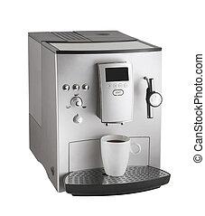 máquina, café, expresso