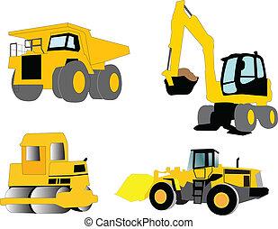 máquina construção