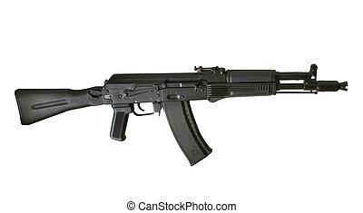 máquina, kalashnikov, ak-105, arma de fuego