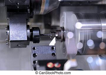 máquina, moderno, procesamiento