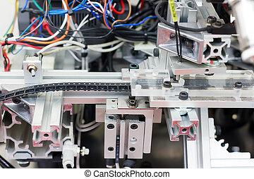máquina, para, fabricación