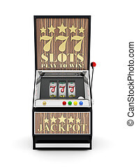 máquina slot, máquina, gamble