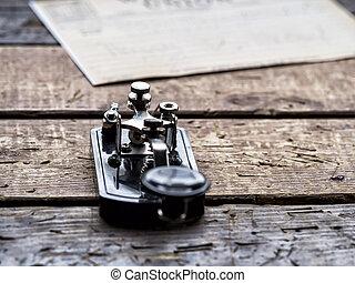 máquina, telégrafo