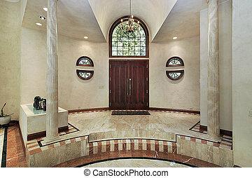 mármore, foyer