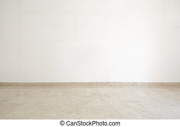 márvány, szoba, üres, emelet