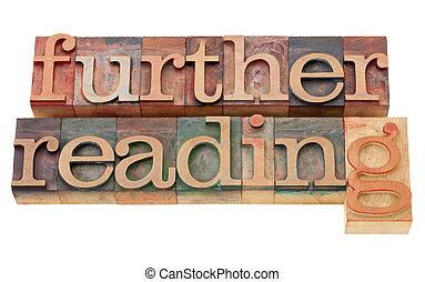 más lejos, lectura, texto