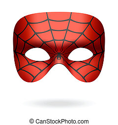 máscara, araña