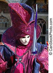 máscara, carnaval, venecia