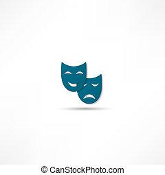 máscara, facial