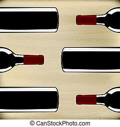 máscara menu, vinho