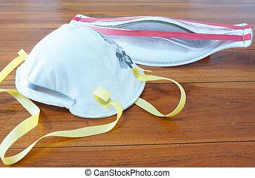máscara, n95, respiratorio, infección, tracto, prevenir