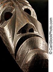 máscara tribal, africano