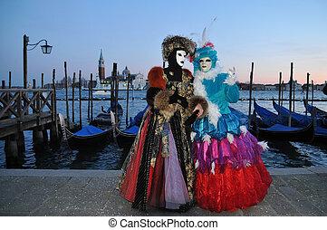 máscara, venecia