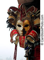 máscara veneciana