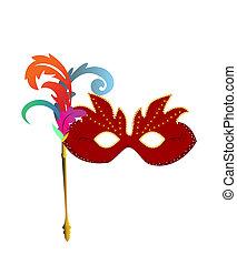 máscaras, carnaval