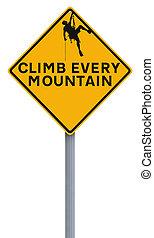 mászik, mind, hegy