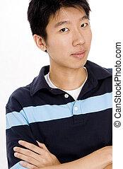 mâle asiatique