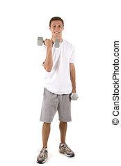 mâle, fitness