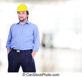 mâle jeune, ingénieur