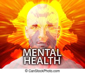 mâle, santé, mental
