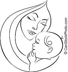 mãe bebê