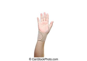 mão, faixa