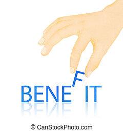 mão fez, palavra, textura, benefício, papel