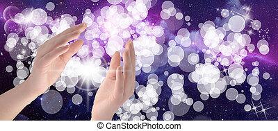mãos healing