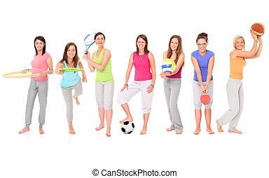 mädels, sportliche