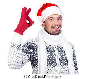 män, jul