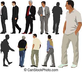 män, kollektion