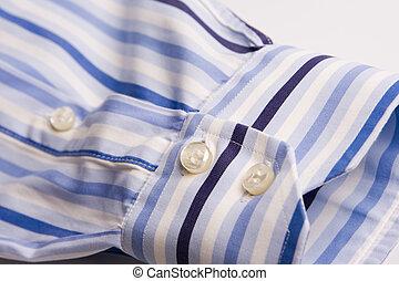 män, skjorta