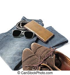 män, tillbehör, kläder