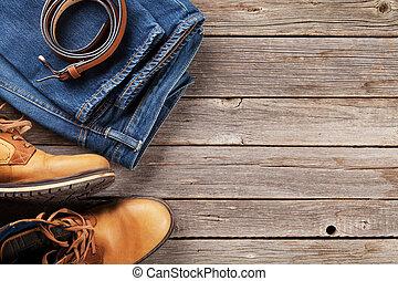 männer, kleidung, und, accessoirs