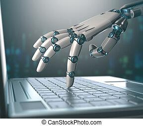 människor, maskiner, ersättning