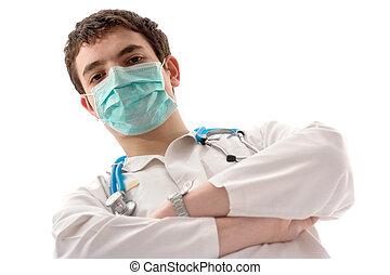 männlicher doktor