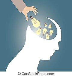 mänsklig, brain04