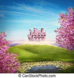 märchen, landschaftsbild