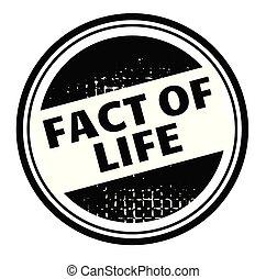 märke, liv, faktum, annonsering
