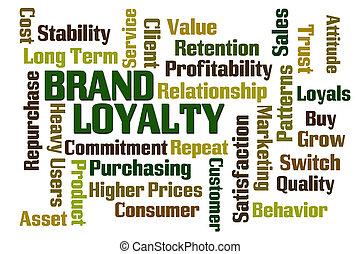 märke lojalitet