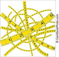 mätning band