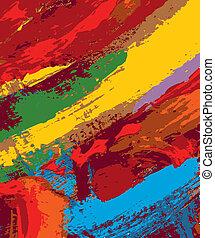 måla abstrahera, bakgrund